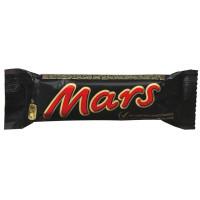 Батончик шоколадный Mars молочный нуга-карамель 50г
