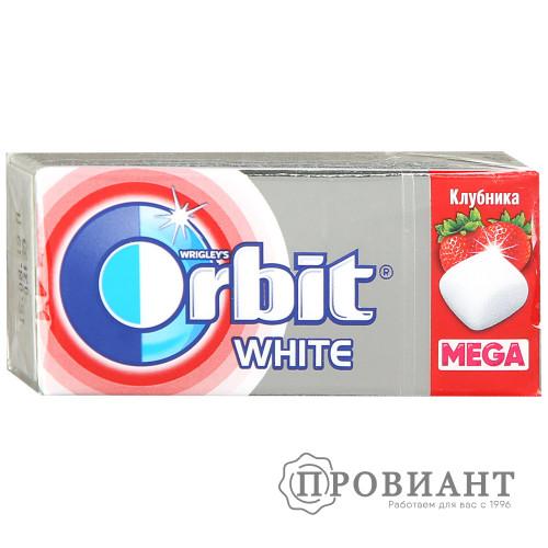 Жевательная резинка Orbit мега клубника 16,4г