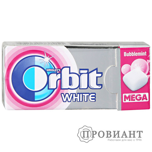 Жевательная резинка Orbit мега bubblemint 16.4г