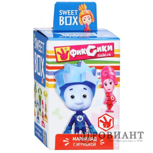 Жевательный мармелад Sweet Box Фиксики с игрушкой