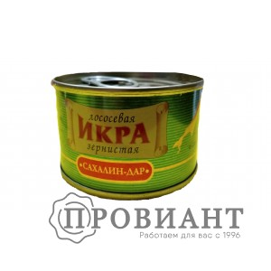 Икра Сахалин-дар лососевая зернистая 140г