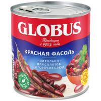 Фасоль Globus красная натуральная 400г