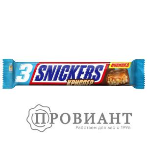 Батончик шоколадный Snickers Криспер молочный арахис-рисовые шарики-карамель 60г