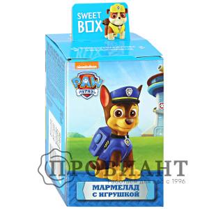 Жевательный мармелад Sweet Box Щенячий патруль с игрушкой