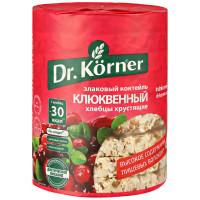 Хлебцы Dr. Korner злаковый коктейль клюквенный 100г