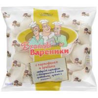 Вареники Братцы Вареники с картофелем и грибами 0,35кг