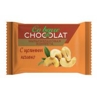 Мультизлаковые конфеты Co barre de Chocolat с цельным кешью (вес)