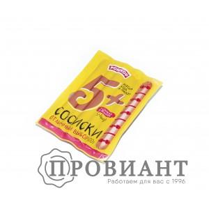 Сосиски Ромкор 5+ 300г