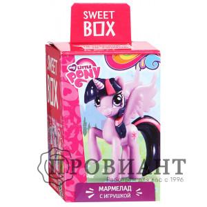 Жевательный мармелад Sweet Box Пони с игрушкой