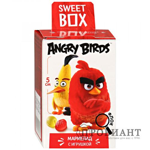 Жевательный мармелад Sweet Box Angry Birds с игрушкой