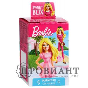 Жевательный мармелад Sweet Box Барби с игрушкой