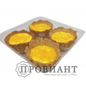 Пирожное Корзиночка с суфле 4шт*80г