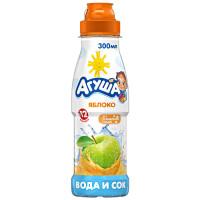 Напиток сокосодержащий Агуша с яблоком 300мл