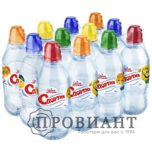 Питьевая вода Святой источник негаз.спортик 0,33л