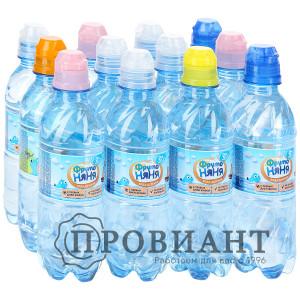 Питьевая вода ФрутоНяня негазир. 0,33л
