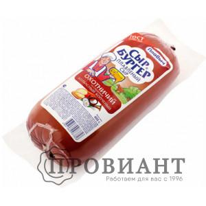 Сыр колбасный Сыр Бургер охотничий со специями копчёный 400г БЗМЖ