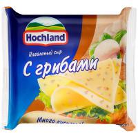 Сыр плавленый Hochland с грибами 8 ломтиков