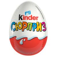 Шоколадное яйцо Kinder Сюрприз 20г