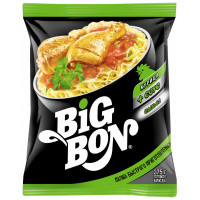 Лапша BigBon курица + соус 75г