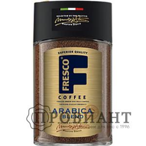 Кофе Fresco Arabica Blend растворимый 100г ст.б