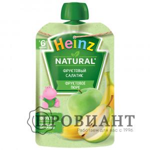 Пюре Heinz фруктовый салатик 100г