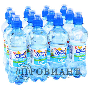 Питьевая вода Агуша негаз.0,33л