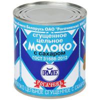 Молоко Рогачевъ цельное сгущенное с сахаром 380г