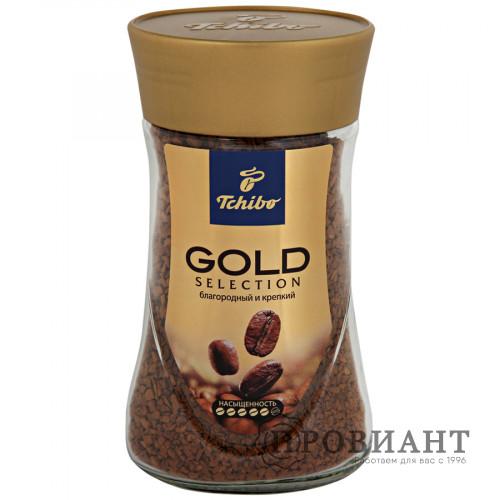 Кофе Tchibo Gold растворимый 95г ст.б.