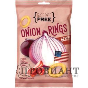 Луковые кольца Onion rings бекон 45г