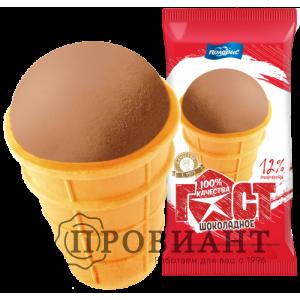 Мороженое ГОСТ шоколадное 70г
