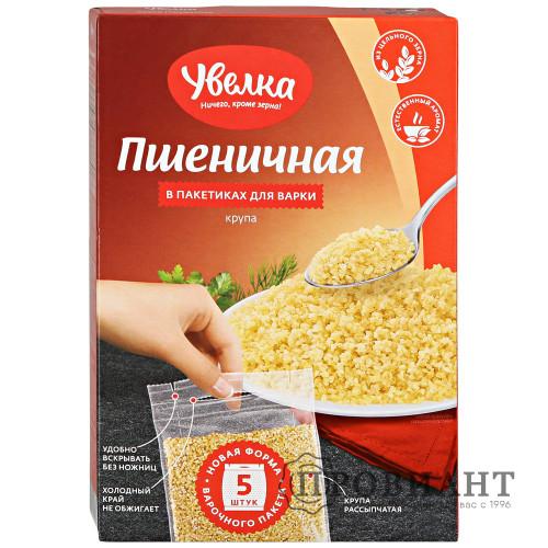 Крупа Увелка пшеничная 5п*80г