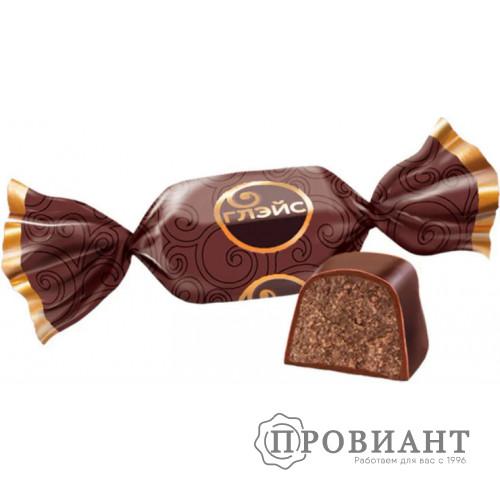 Конфеты Глэйс с шоколадным вкусом (вес)