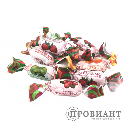 Карамель фруктовая Кара-бумс (вес)