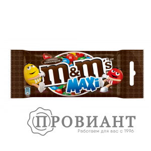Драже M&М's maxi с шоколадом 130г