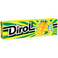 Жевательная резинка Dirol манго 13,6г