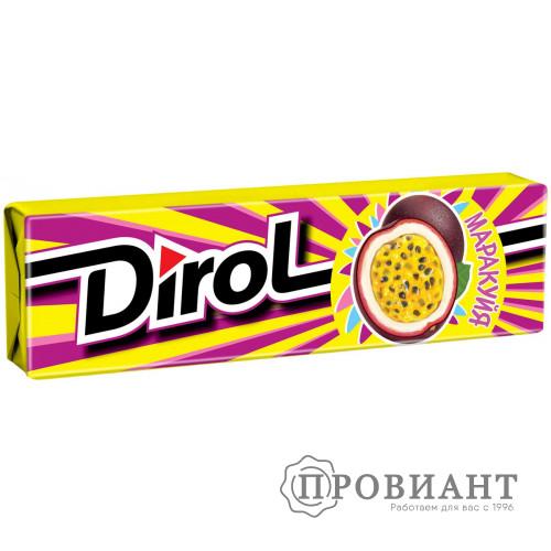 Жевательная резинка Dirol маракуйя 13,6г