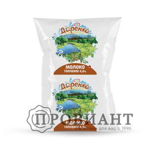 Молоко Даренка ультрапастеризованное топленое 4,0% 900г БЗМЖ