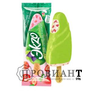 Мороженое Эkzo лайм/клубника/базилик 72г
