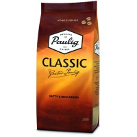 Кофе Paulig Classic в зернах 250г м.уп.
