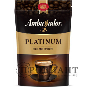 Кофе Ambassador Platinum растворимый 150г м.уп.