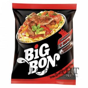 Лапша BigBon говядина + соус 75г
