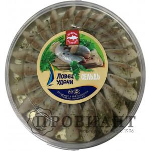 Пресервы сельдь филе с укропом в масле 150г