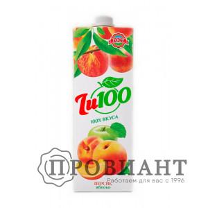 Нектар Джу100 персик-яблоко 1л