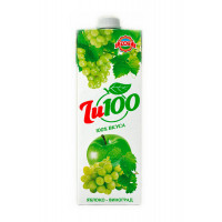 Нектар Джу100 виноград-яблоко 1л