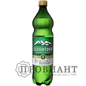 Вода минеральная лечебная Ессентуки №4 газ. 1л