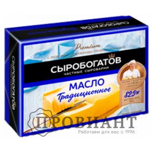 Масло сливочное Сыробогатов традиционное 82,5% 175г