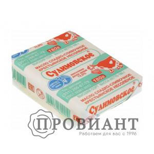 Масло сливочное Сулимовское 72,5% 175г