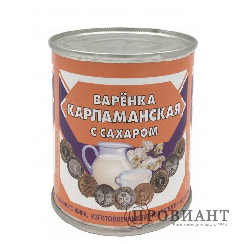 Варёнка Карламанская с сахаром 380г СЗМЖ