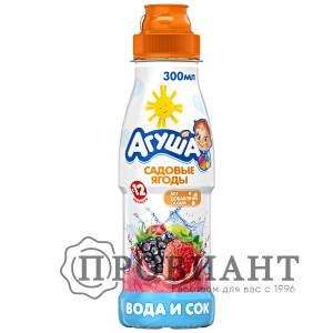 Напиток сокосодержащий Агуша с садовыми ягодами 300мл