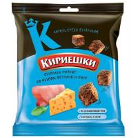 Сухарики Кириешки со вкусом ветчины и сыра 40г